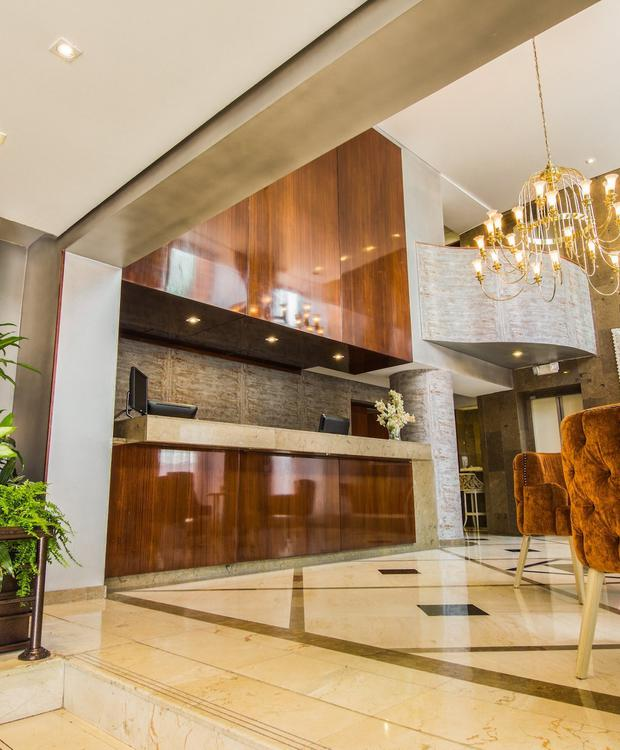 Lobby GHL Hotel Hamilton Hôtel GHL Collection Hamilton Bogota