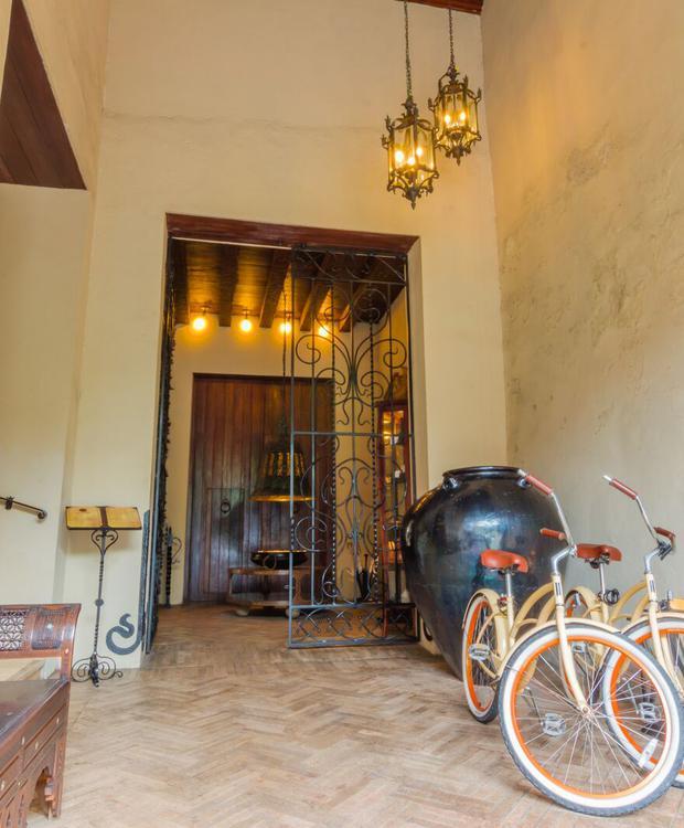 Bicyclettes à Bastión Luxury Hotel Bastión Luxury Hotel Carthagène des Indes