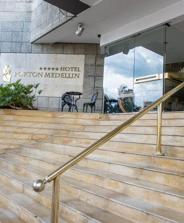 Entrée GHL Hôtel Portón Medellín Medellín