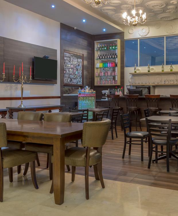 Lobby Bar GHL Collection Barranquilla Hôtel Barranquilla