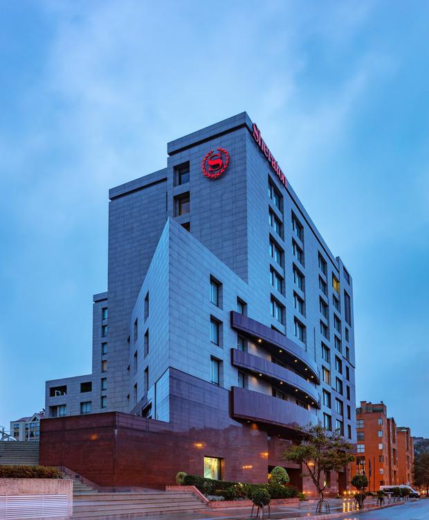 Façade Sheraton Bogota Hotel Sheraton Bogota Hôtel Bogota