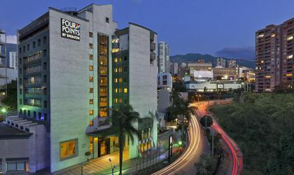 Façade hôtel four points by sheraton medellín
