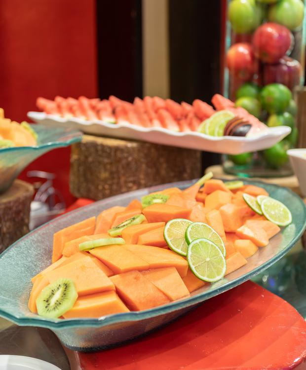 Petit-déjeuner buffet Hôtel Sonesta Barranquilla Barranquilla