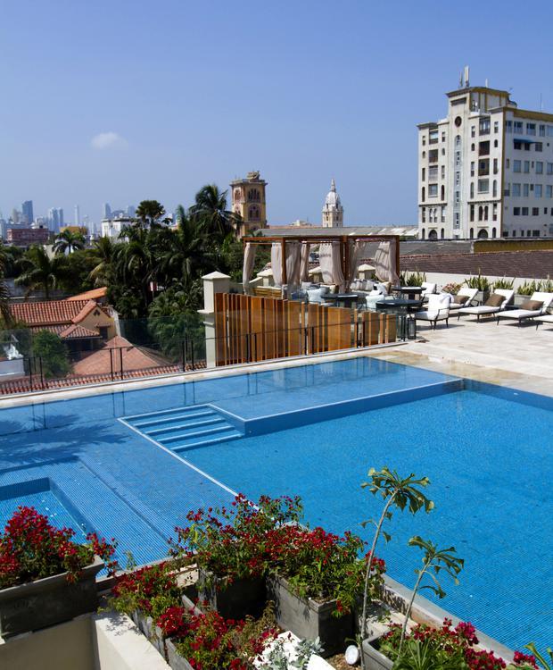 Piscine à Bastión Luxury Hotel Bastión Luxury Hotel Carthagène des Indes