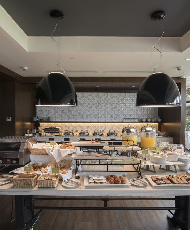 Petit-déjeuner Sonesta Hôtel El Olivar Lima
