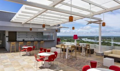 Terrasse lounge bar hotel park inn by radisson barrancabermeja