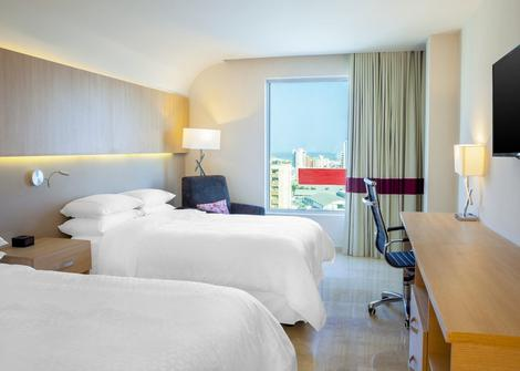 CHAMBRE TRADITIONNELLE DOUBLE/TWIN Hotel Four Points By Sheraton Barranquilla Barranquilla