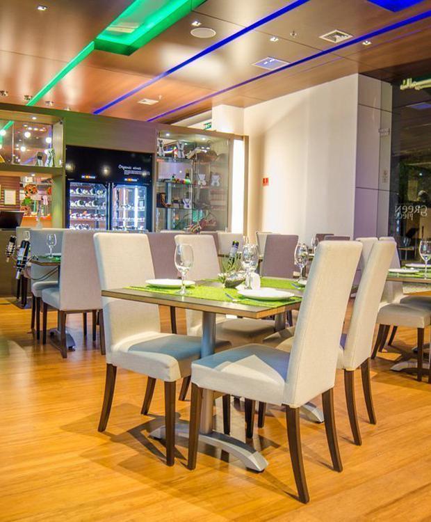 Restaurant Green Piece Biohotel Organic Suites Bogota