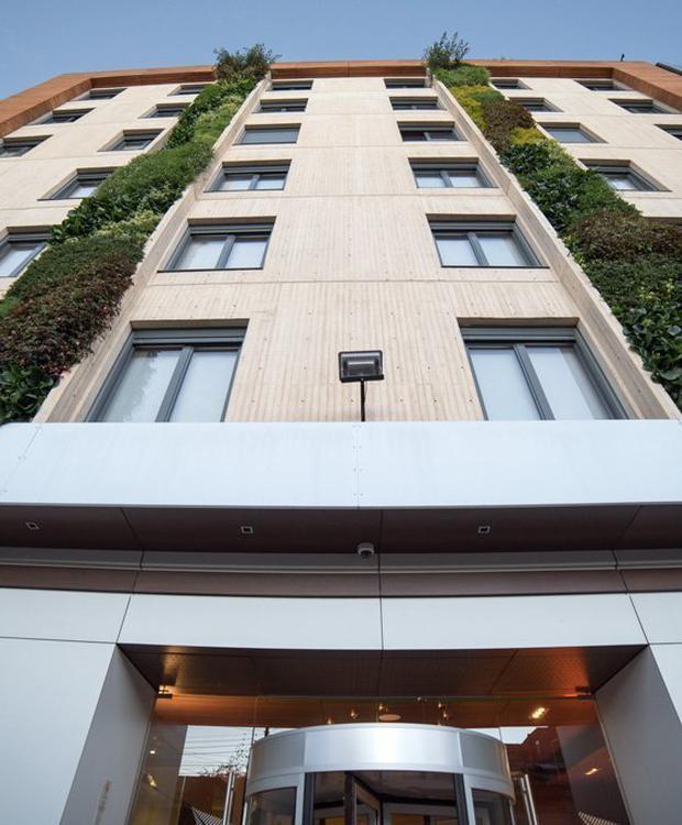Façade Biohotel Organic Suites Bogota