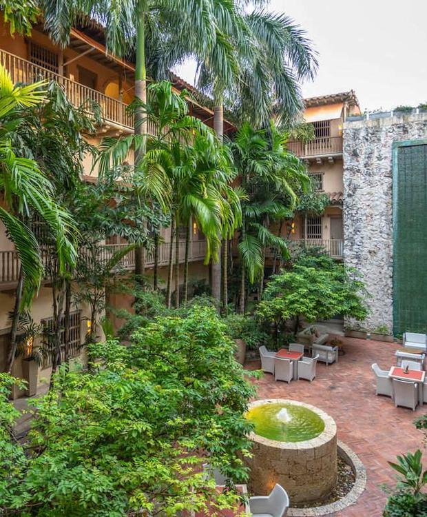 Vue panoramique Hôtel GHL Collection Armería Real Hotel Carthagène des Indes
