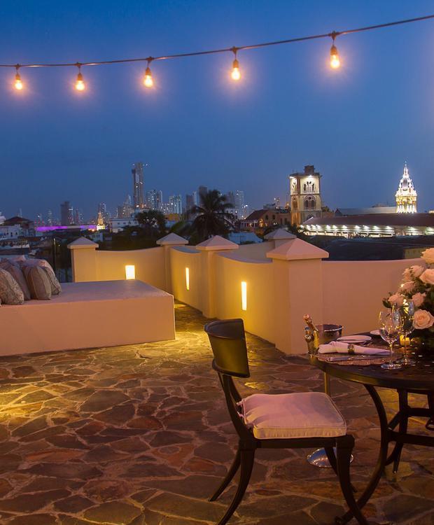 Point de vue du Bastión Luxury Hotel Bastión Luxury Hotel Carthagène des Indes
