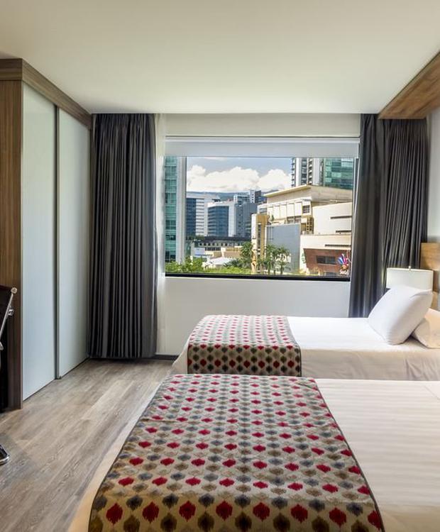 Chambre luxury twin GHL Hôtel Portón Medellín Medellín