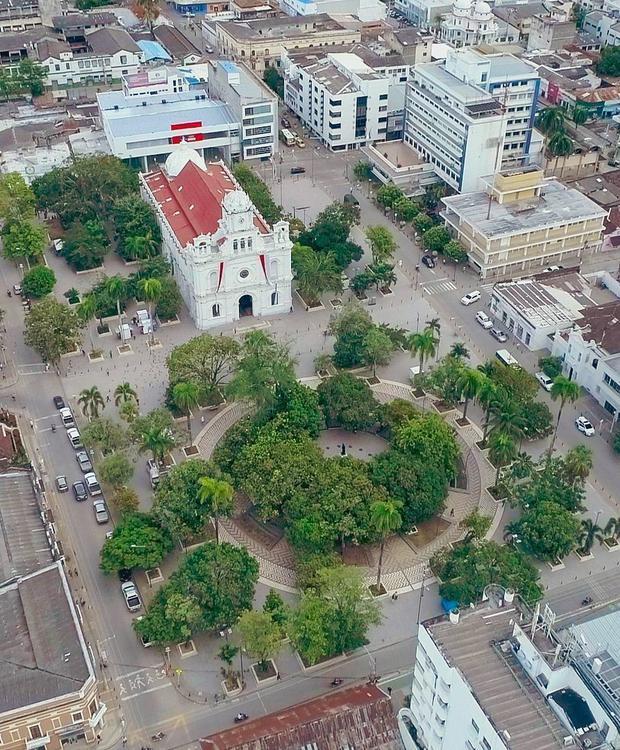 Cathédrale San Jeronimo - Parc Simon Bolivar