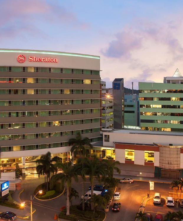 Façade Sheraton Guayaquil Hôtel Guayaquil