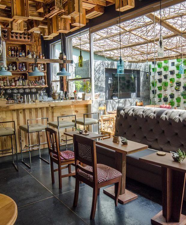 Huerta bar Biohotel Organic Suites Bogota
