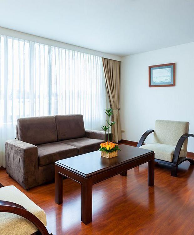 Habitación Junior Suite GHL Style Hôtel Belvedere Bogota