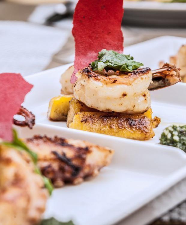 Gastronomíaa GHL Hôtel Relax Corales de Indias Carthagène des Indes