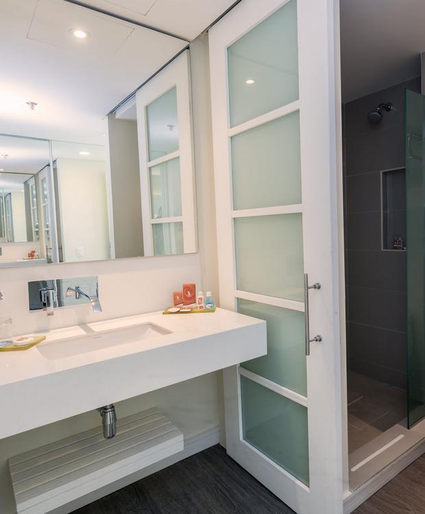 Salle de bain GHL Hôtel Relax Corales de Indias Carthagène des Indes