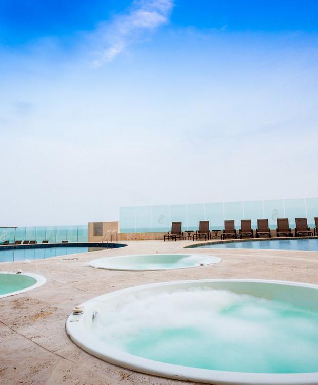 Jacuzzi GHL Hôtel Relax Corales de Indias Carthagène des Indes