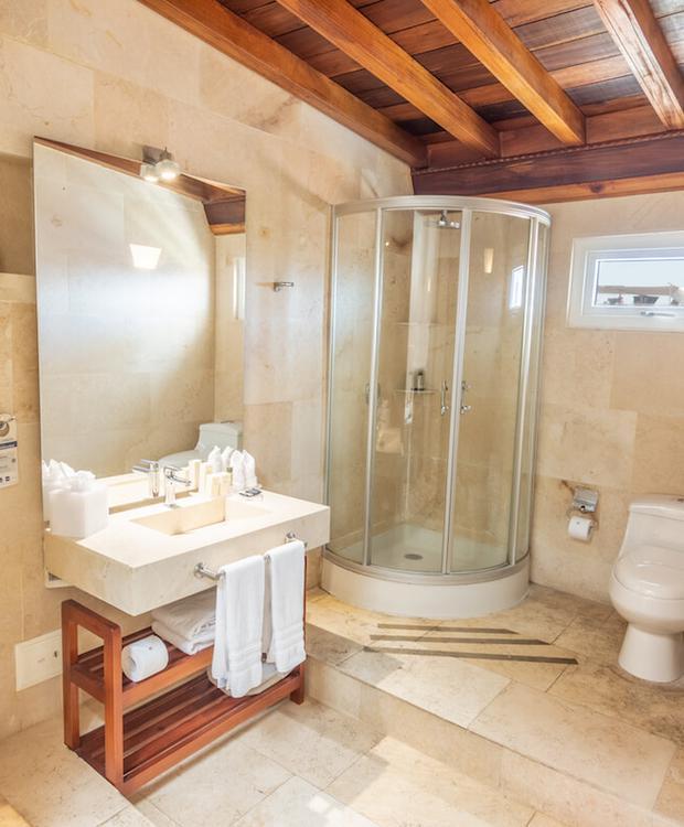 Salle de bains Hôtel GHL Collection Armería Real Hotel Carthagène des Indes