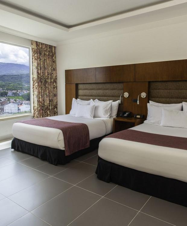 Chambre Twin GHL Hôtel Grand Villavicencio Villavicencio