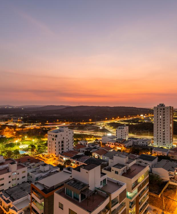 Vue de la ville Sonesta Hotel Barranquilla  Barranquilla