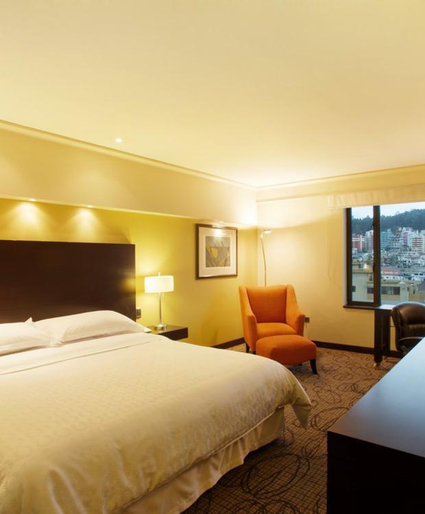 King Chambre Sheraton Quito Hôtel Quito