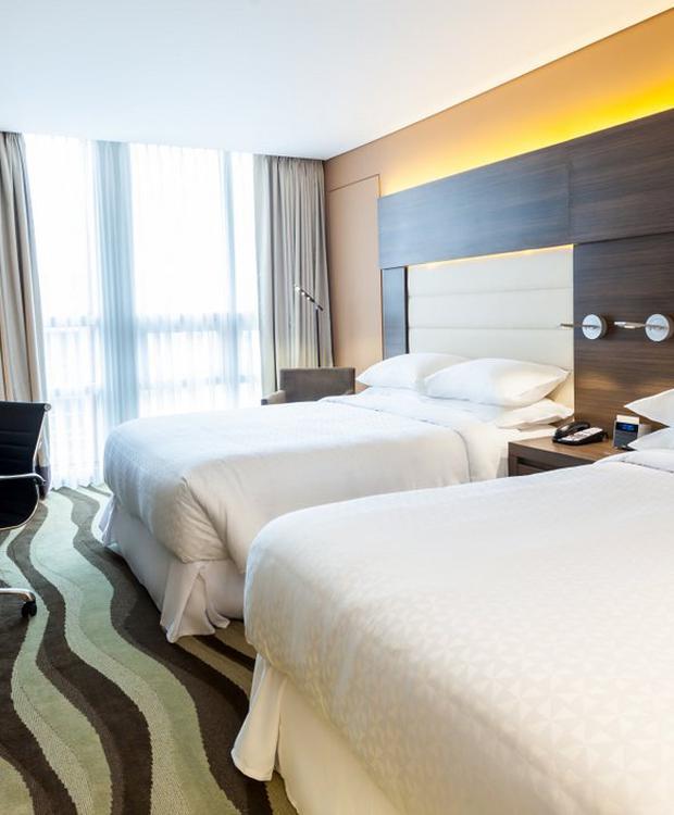 Chambre Double Hôtel Four Points By Sheraton Bogota Bogota