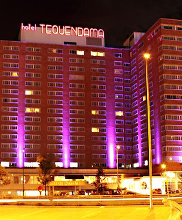 Façade Hôtel Tequendama Bogota