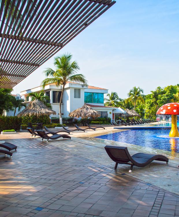Piscine Hôtel GHL Relax Costa Azul Santa Marta