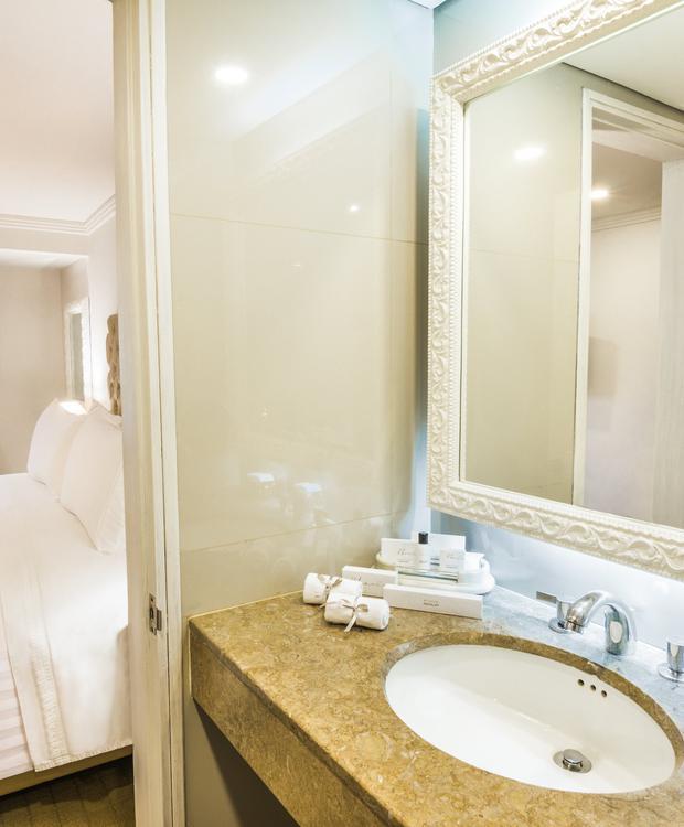 Salle de bains Suite GHL Hotel Hamilton Hôtel GHL Collection Hamilton Bogota
