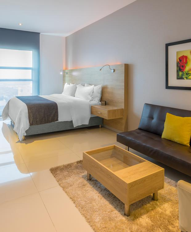 Chambre King Collection GHL Collection Barranquilla Hôtel Barranquilla