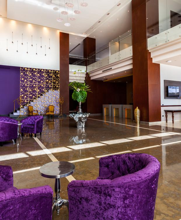 Lobby GHL Collection Barranquilla Hôtel Barranquilla