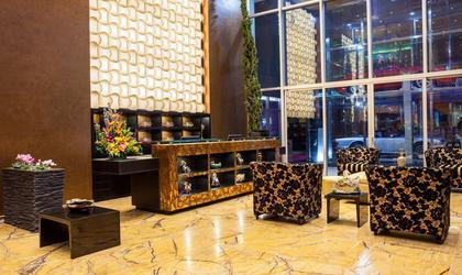 Lobby hôtel four points by sheraton bogota