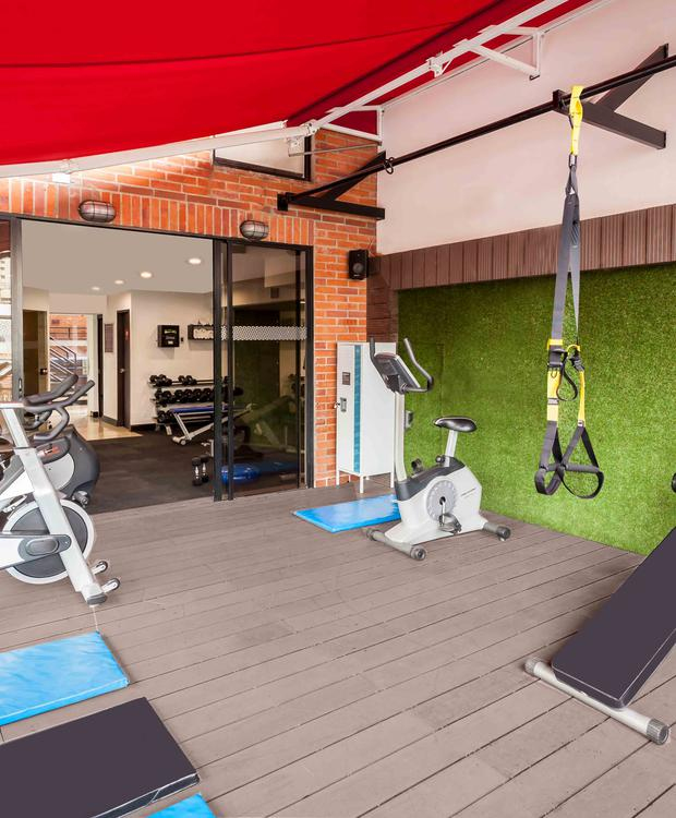 GYM Four Points by Sheraton Cali Hôtel Four Points by Sheraton Cali Cali