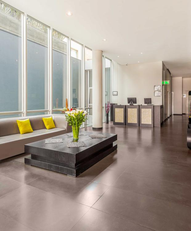 Lobby Hôtel GHL Collection 93 Bogota