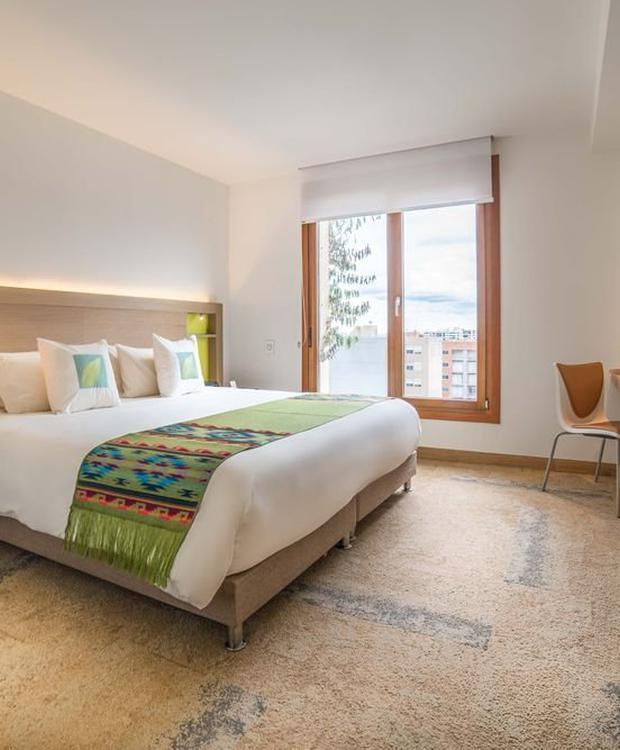 Chambre standard de luxe Biohotel Organic Suites Bogota