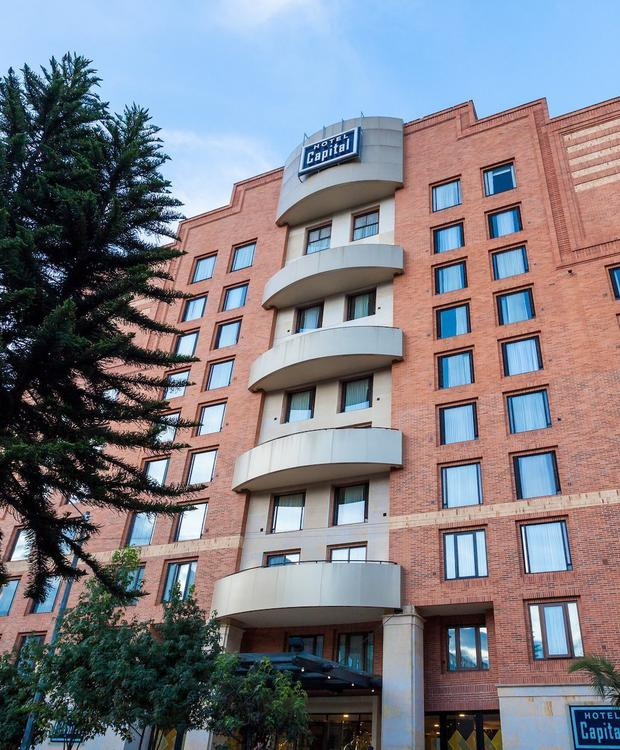 Façade GHL Hotel Capital GHL Hôtel Capital Bogota