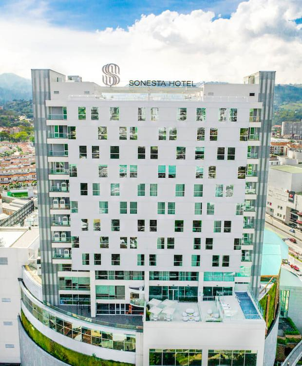 Façade Sonesta Hotel Bucaramanga  Bucaramanga