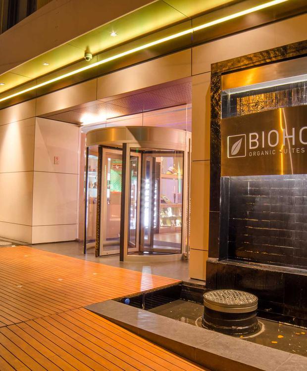 Entrée Biohotel Organic Suites Bogota