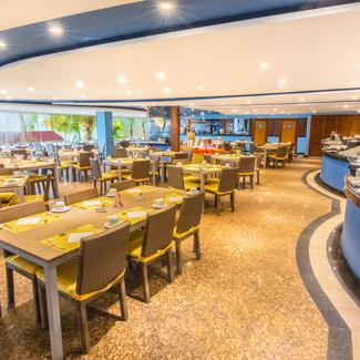 Restaurant Paradise GHL GHL Relax Hotel Sunrise San Andres