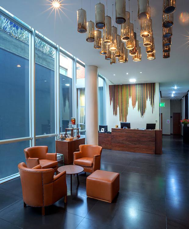 Hall Hôtel GHL Collection 93 Bogota