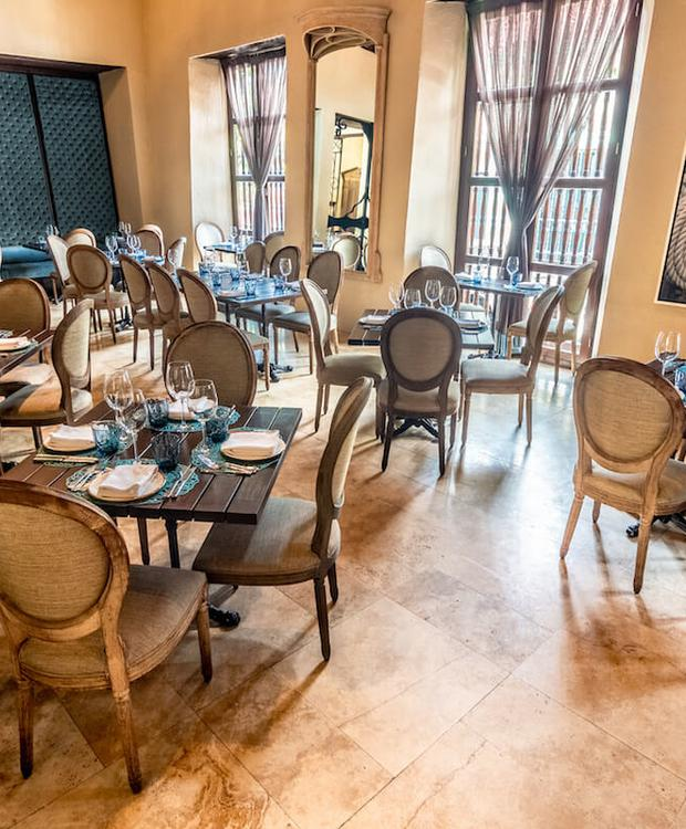 Restaurant Bastión Luxury Hotel Carthagène des Indes