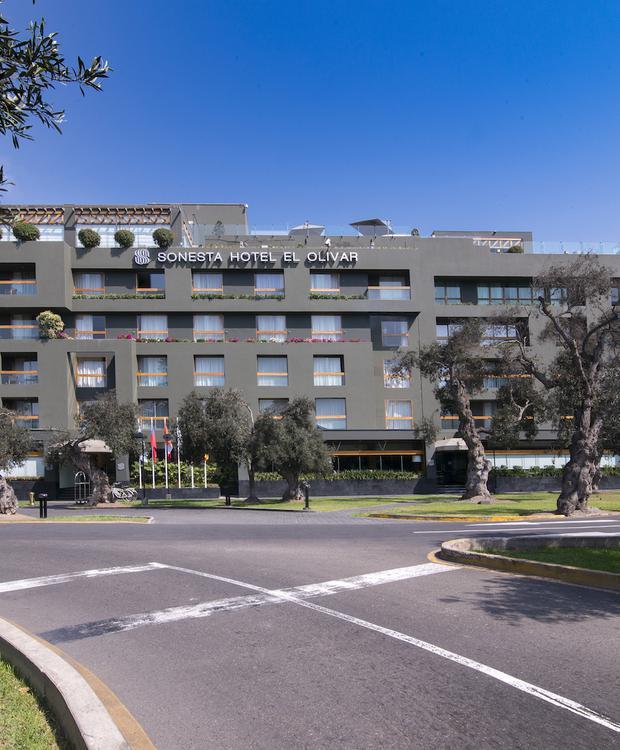 Façade Sonesta Hôtel El Olivar Lima