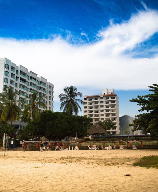 Beach-volley Hôtel GHL Relax Costa Azul Santa Marta