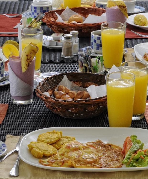 Petit déjeuners GHL Relax Hôtel Makana Resort Tonsupa