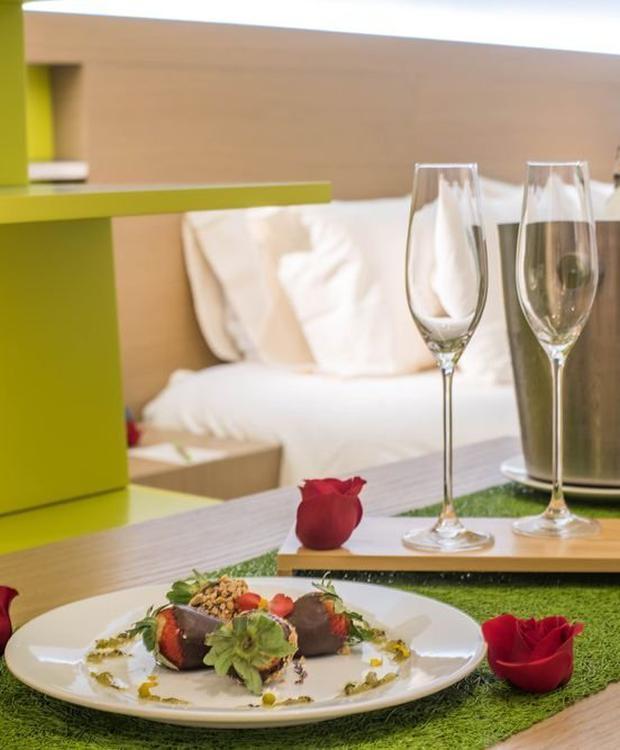 Nuit romantique Biohotel Organic Suites Bogota