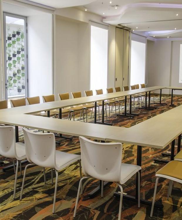 Salle de réunions Biohotel Organic Suites Bogota