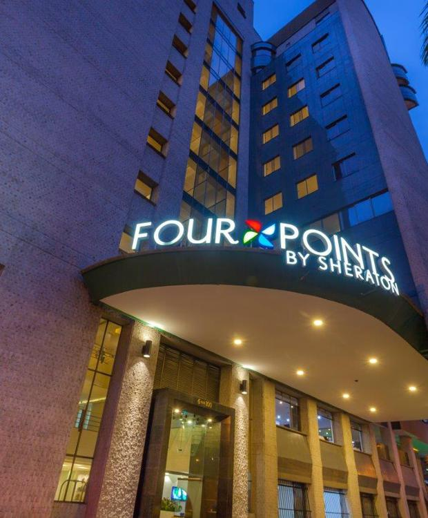 Fachada Hôtel Four Points by Sheraton Medellín Medellín