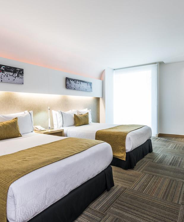 Habitación Twin Sonesta Hôtel Bogota Bogota